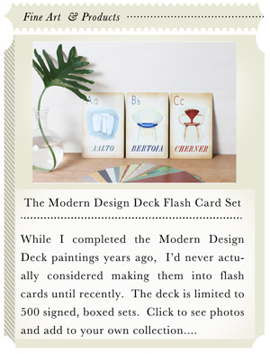 Modern Design Deck Flash Cards